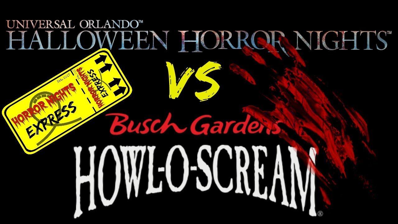 Howl O Scream Or Halloween Horror Nights 2020 Halloween Horror Nights VS Howl O Scream! Which One Do You Pick