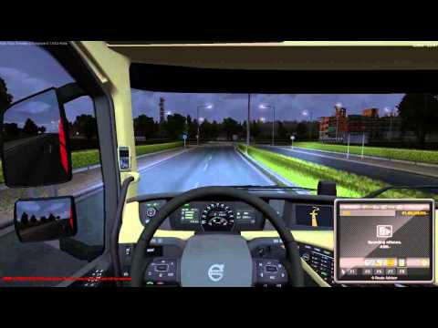 ETS2 Truck Convoy to Newcastle Port to Amsterdam