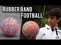 CRAZY RUBBER BAND FOOTBALL/SOCCER BALL