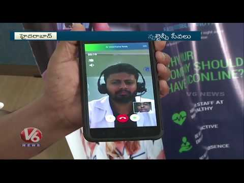 Doconline Doctor Consultation Services Makes an Impact in Hyderabad - V6 News