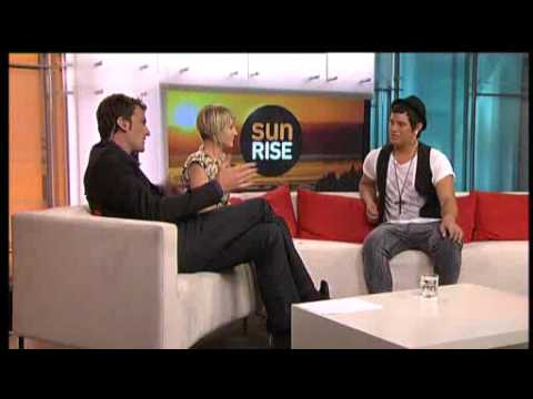 Stan Walker Interview on Sunrise NZ