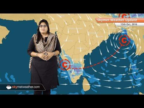 Weather Forecast for Oct 13: Rain in Chennai, Karnataka, Northeast, comfortable weather in Delhi