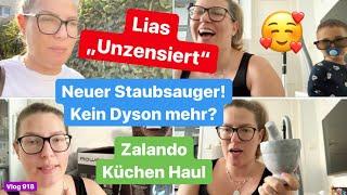 Lias zensiert sich selbst l Neuer Staubsauger! Kein Dyson mehr? l Zalando Lounge Haul l Vlog 918