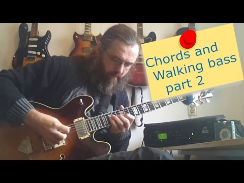 Chords and Walking Bass - part 2