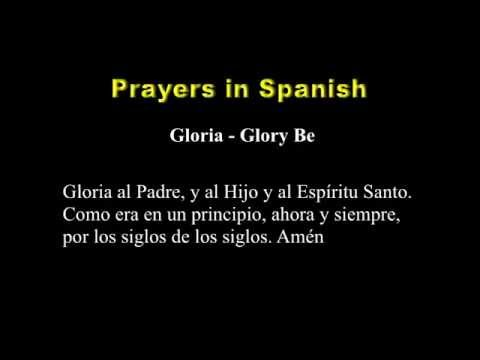 Prayers in Spanish - YouTube