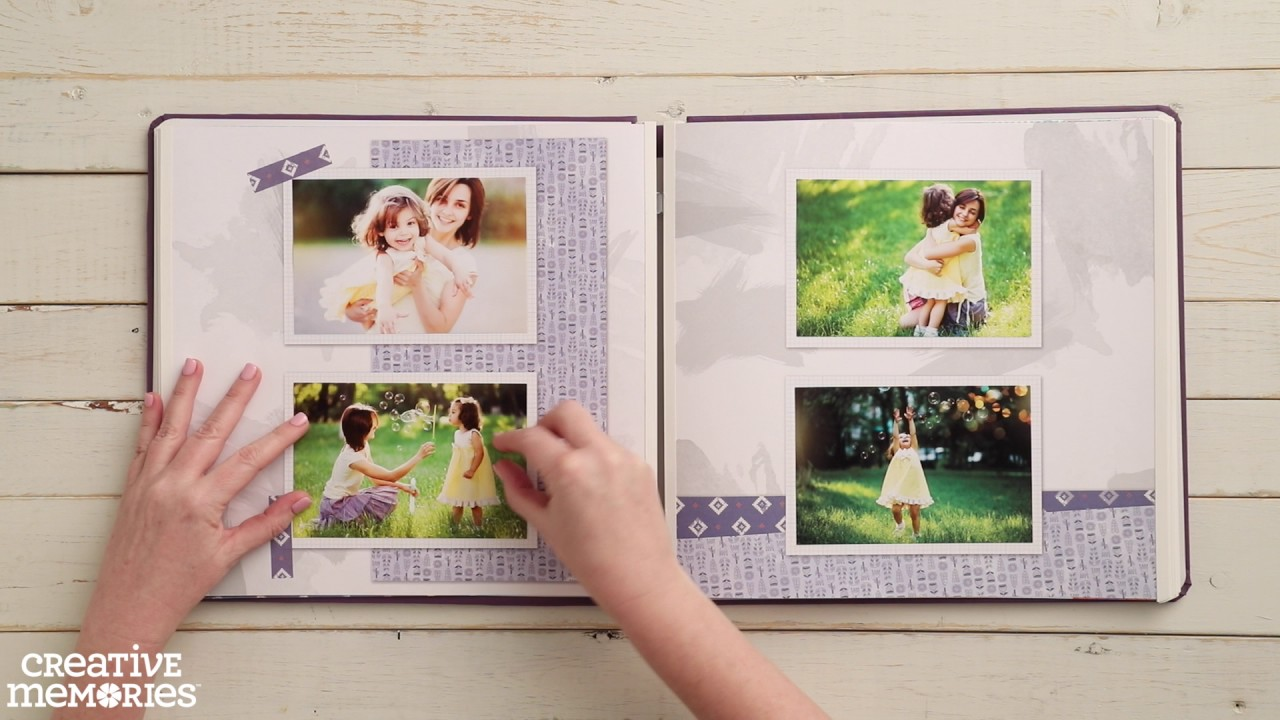 Sorbet Fast2Fab™ Scrapbooking Album & Pages by Creative Memories