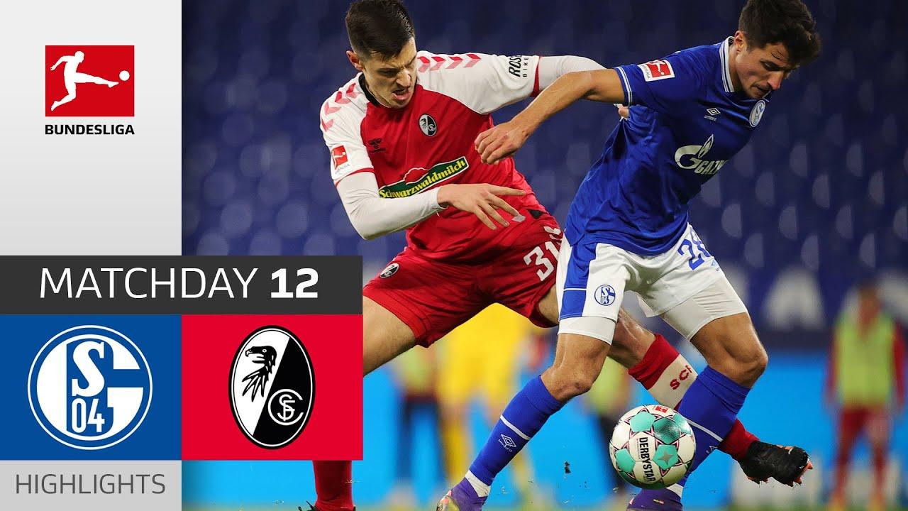 Fc Schalke 04 Sc Freiburg 0 2 Highlights Matchday 12 Bundesliga 2020 21 Youtube