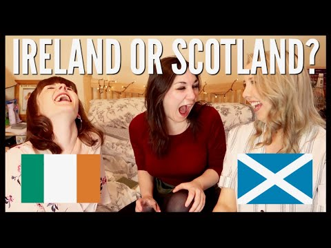 IRELAND OR SCOTLAND - DATING/GHOSTING | A Wee Ginwag Ft. Sarah Courtney