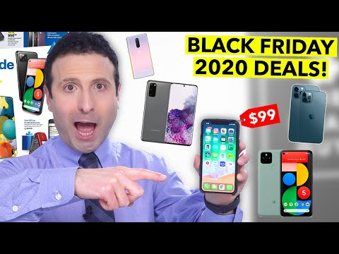 Top 10 Black Friday Cell Phone Deals 2020