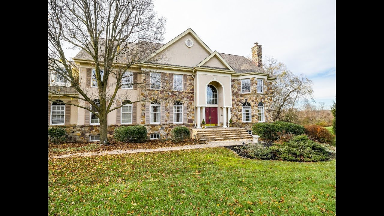 Home For Sale 6 Bed Estate In Law Suite VIEWS 3 Lakeview Newtown PA 18940  Bucks County Real Estate