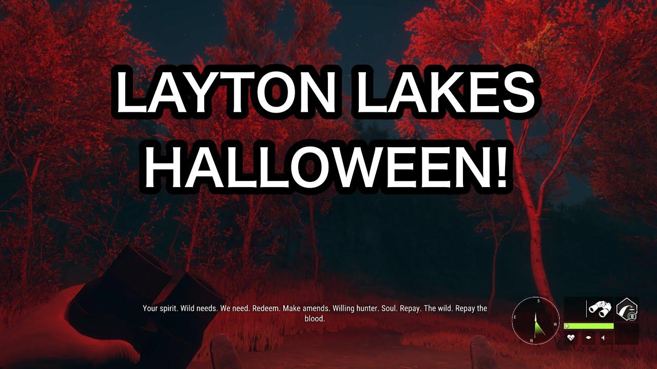 LAYTON LAKES HALLOWEEN UNDEAD WILDLIFE! THE HUNTER CALL OF THE WILD