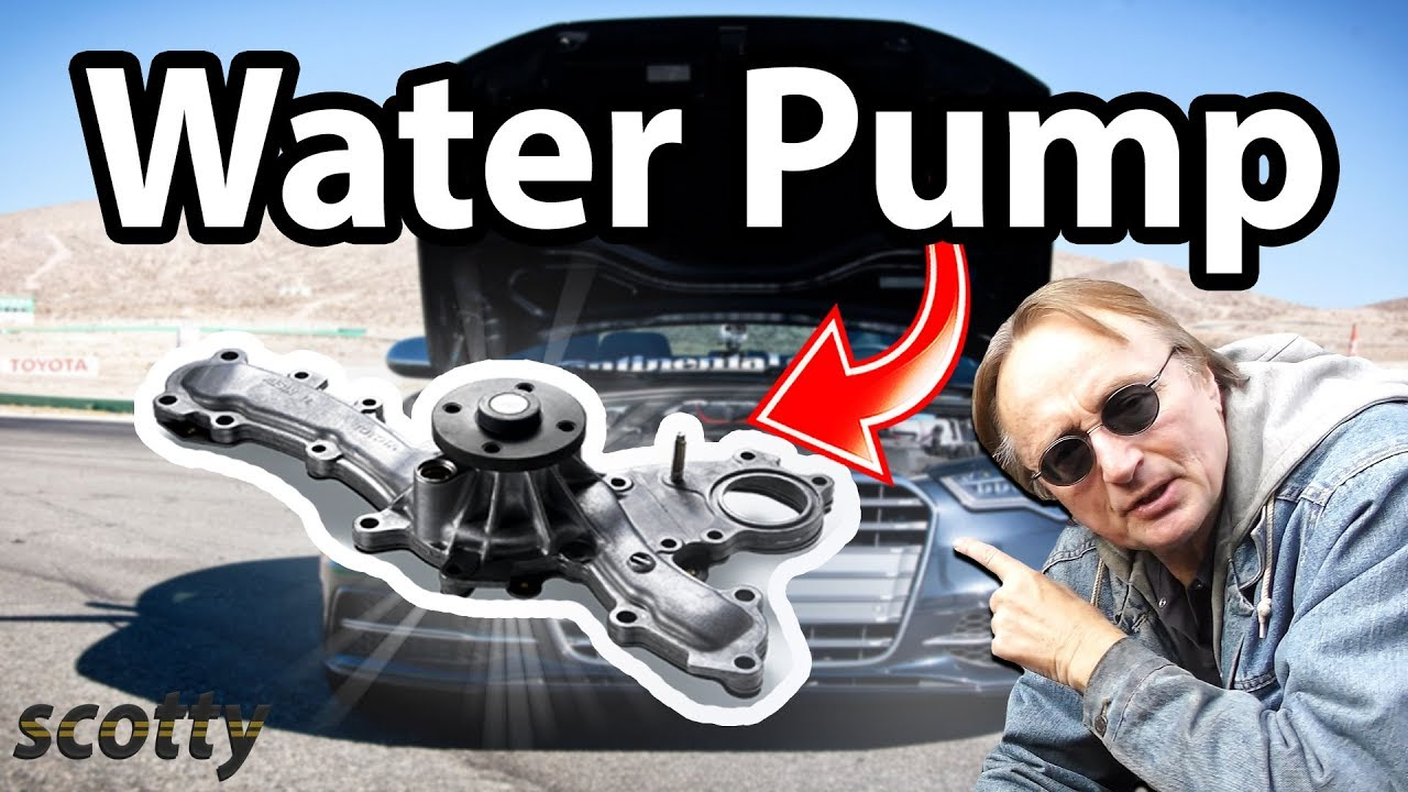 How To Stop Car Noise Water Pump Replacement Youtube Pontiac Bonneville Diagram