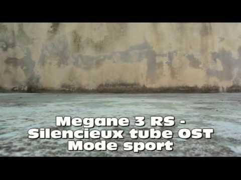 megane 3 rs montage ligne orbisound youtube. Black Bedroom Furniture Sets. Home Design Ideas