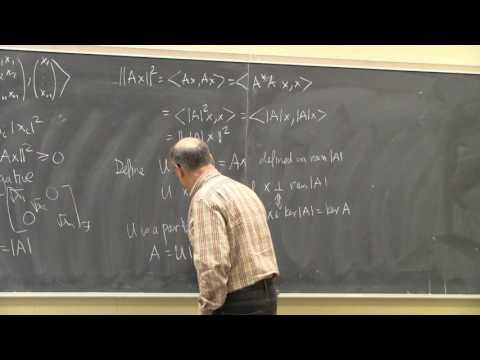PMC Prof Talk - von Neumann's Inequality, by Professor Ken Davidson