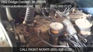 1952 Dodge Coronet  for sale in Nationwide, NC 27603 at Clas #VNclassics