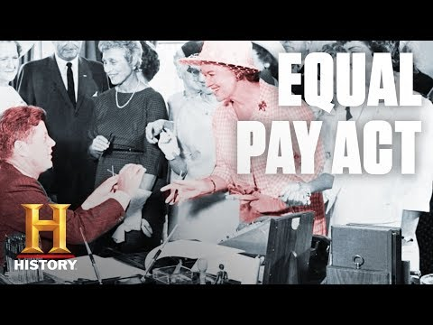 What Did the Equal Pay Act of 1963 Do? | History