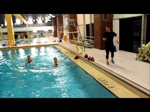 Aquatic Group Fitness Class Video