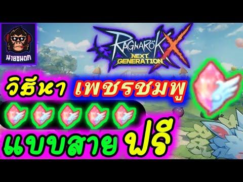 วิธีหาเพชรแบบ(สายฟรี)วันละ 200K++ Ragnarok X Next Generation (ROX)