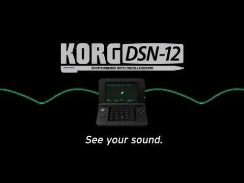 Korg DSN12 AnalogStyle Creation Tool for Nintendo 3DS