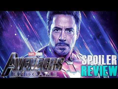 Avengers Endgame Spoiler Review!