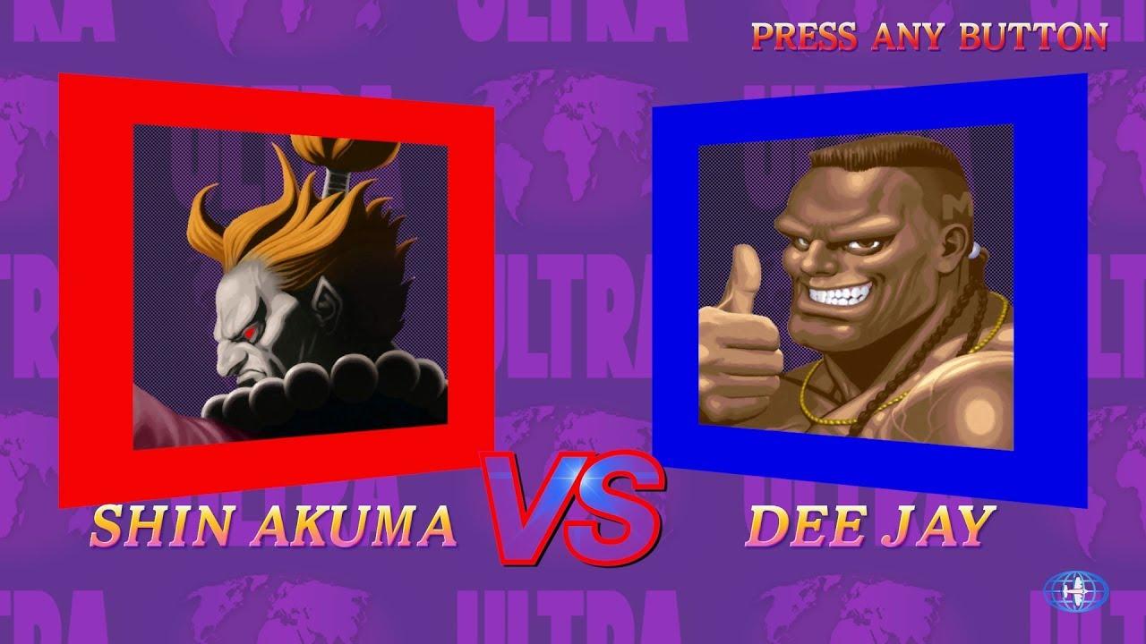 You Can Now Play As Shin Akuma In 'Ultra Street Fighter II