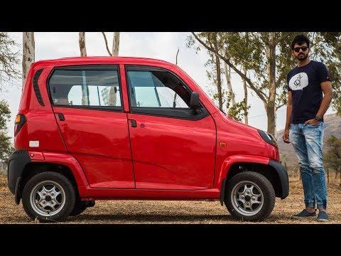 Bajaj Qute CNG - Rs. 3.3 Lakh Quadricycle 😱| Faisal Khan