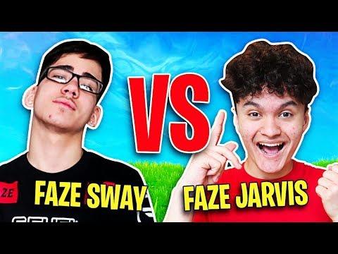 FaZe Jarvis Vs FaZe Sway (Fortnite 1v1 REMATCH)