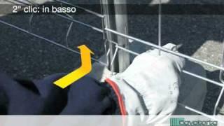 MOBICLIC, istruzioni di montaggio recinzione temporanea. In tre clic.