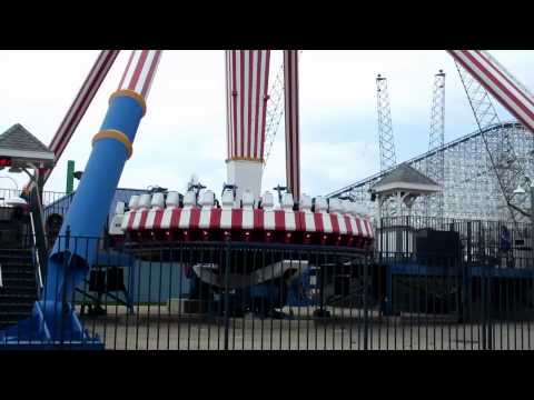 SIX FLAGS GREAT AMERICA OPENING WEEKEND 2015