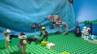 тест драйв от Саныча.ХотВилс.Lego. Лего. Звездные войны. Самый смешной мультфильм. Конструктор.