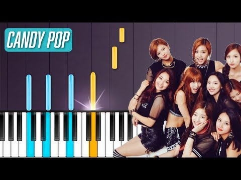 TWICE - 'Candy Pop' Piano Tutorial - Chords - How To Play - Cover