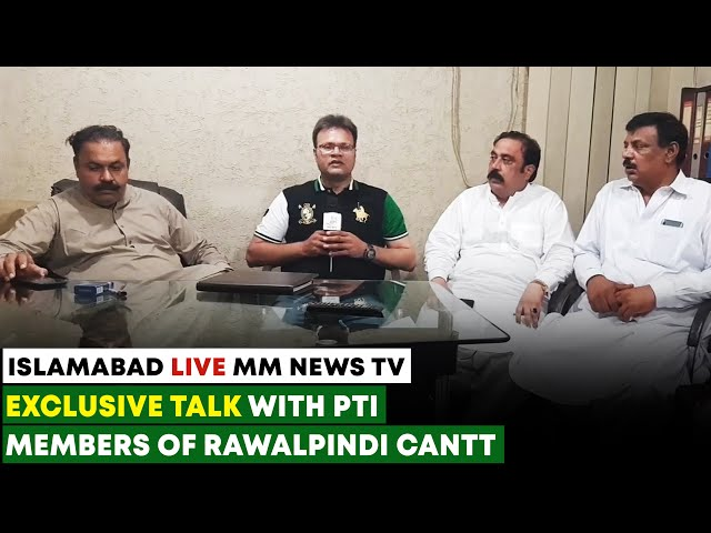 Exclusive Talk With PTI Members Of Rawalpindi Cantt