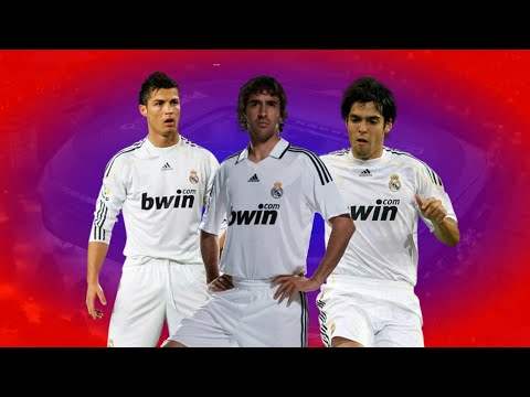 Remember!! Real Madrid Starting XI Season 2009/2010 - Footballstudio7