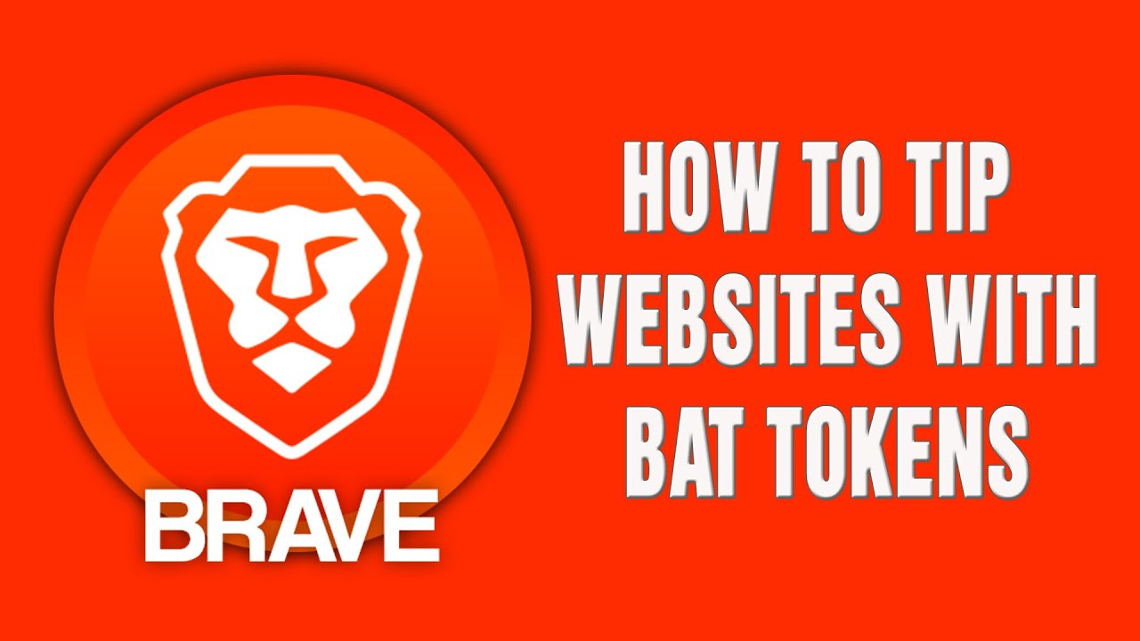 Brave browser | How to Tip Websites with BAT Tokens 10