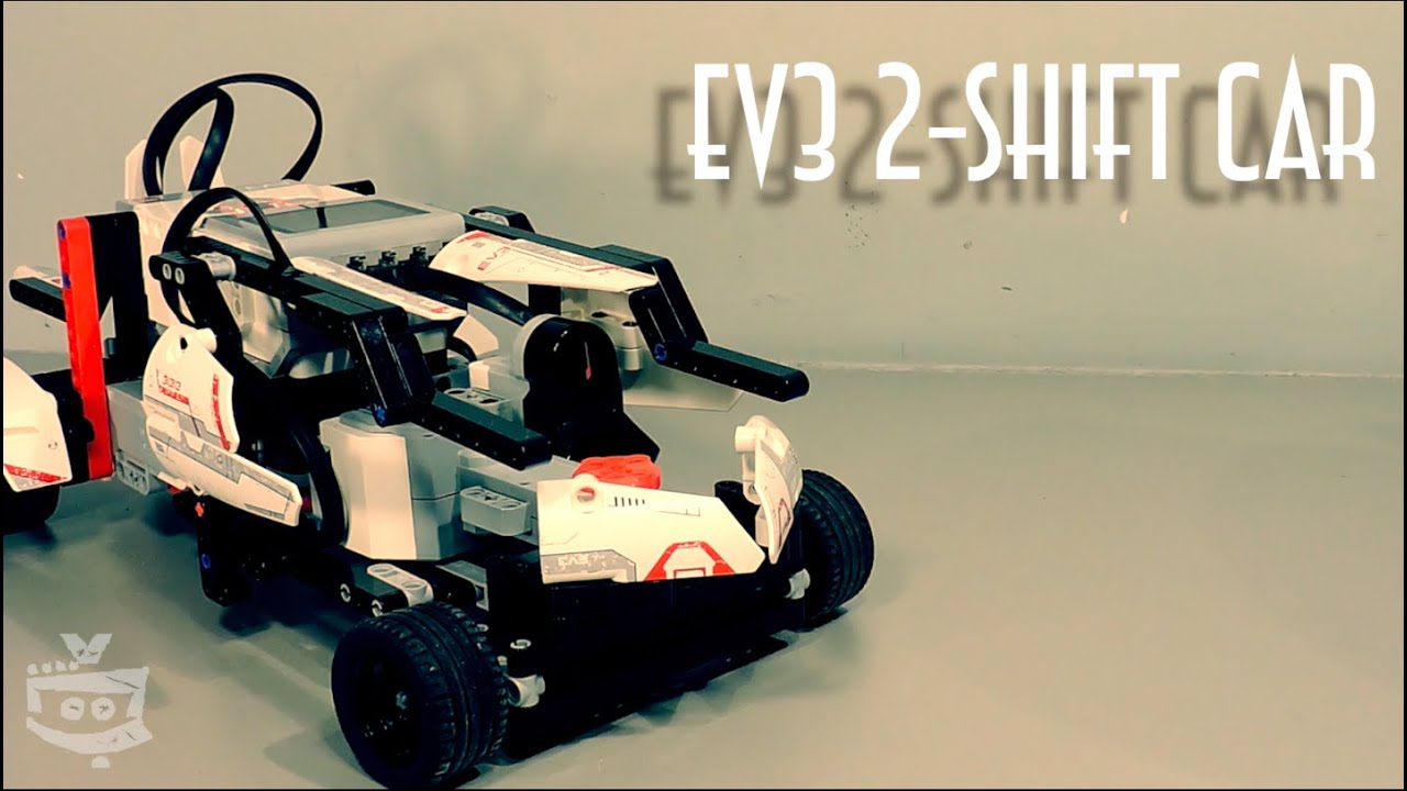 Lego Mindstorms Car with 2 shifts (gearbox) - Lego Mindstorms Creations (Building Instructions )