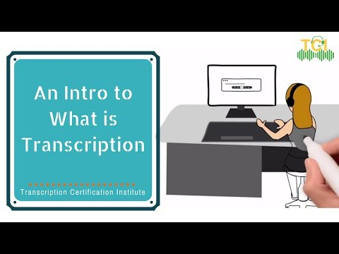 An Introduction to What is Transcription | Lesson 1 (Part 1) Overview