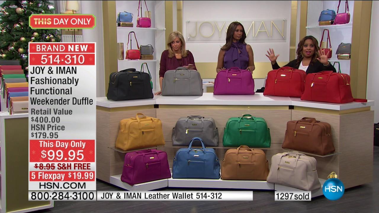 Hsn Joy Iman Fashionably Functional 12 03 2017 04 Pm