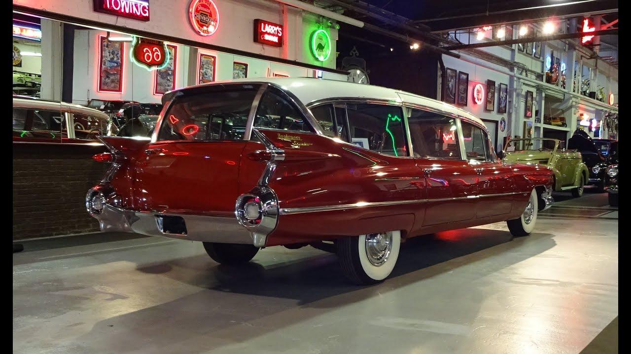 1959 Cadillac Caddy Broadmoor Skyview Custom Limousine & Start Up on