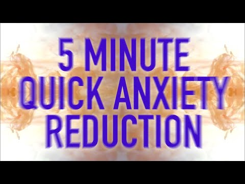5 MIN MEDITATION: ANXIETY REDUCTION