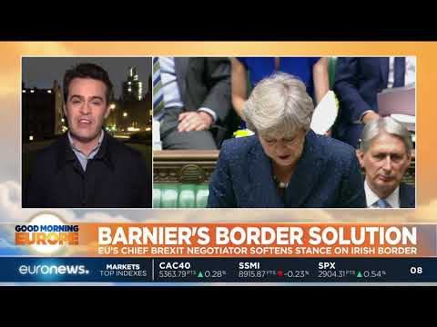 euronews (in English): Barnier's border solution