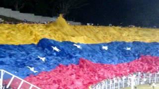 Venezuela vs Bolivia Himno de Venezuela  Bandera gigante