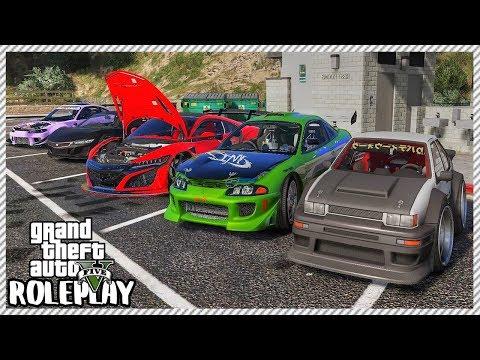 GTA 5 Roleplay - 'HUGE' JDM Car Meet & Ride Out | RedlineRP #189 thumbnail