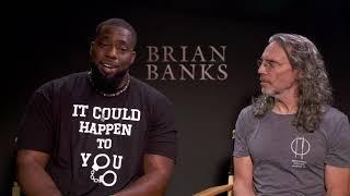 Brian Banks Movie    Brian Banks & Tom Shadyac  Soundbites    #SocialNews.XYZ