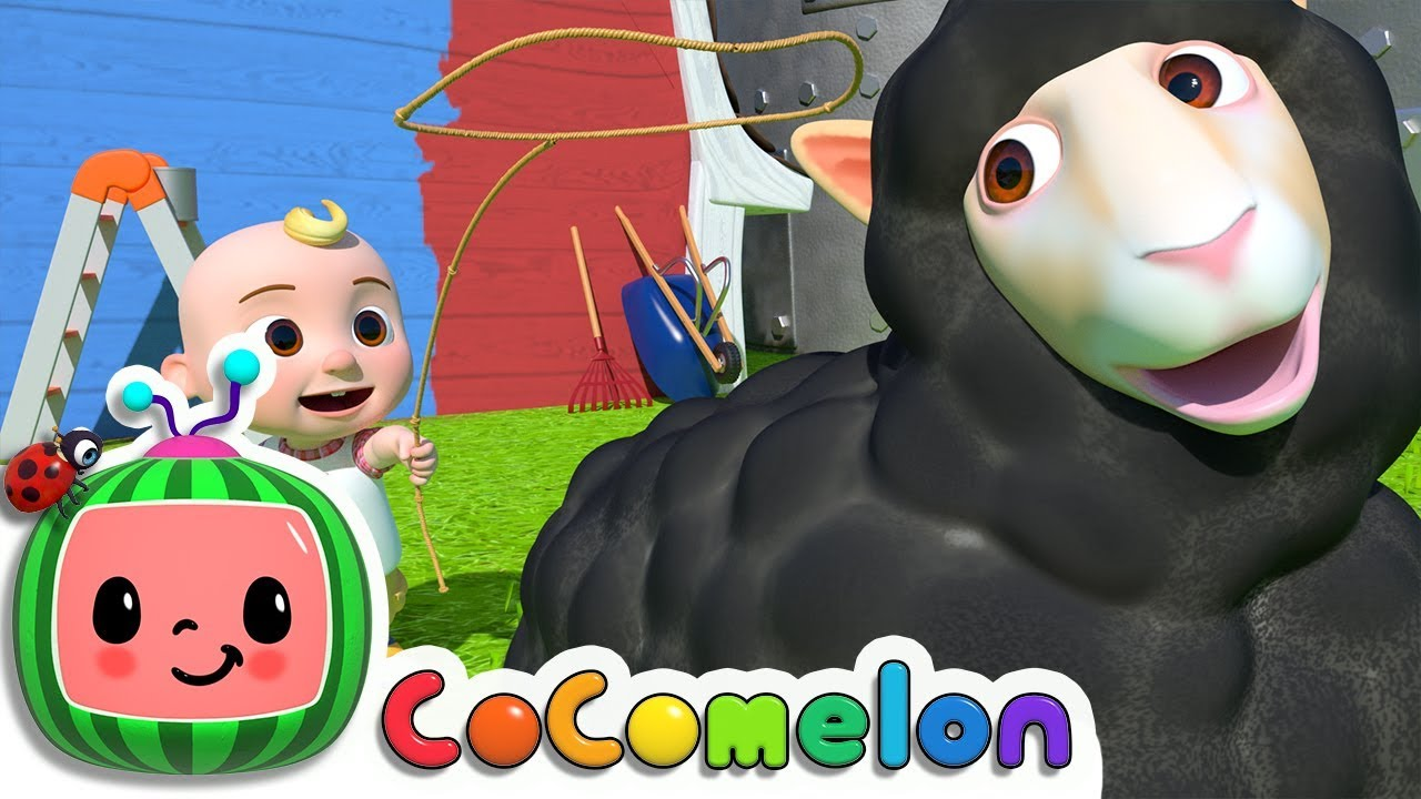 Baa Black Sheep Cocomelon Abckidtv Nursery Rhymes Kids Songs