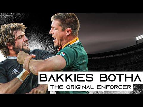 The Original Enforcer | Bakkies Botha Rugby Tribute