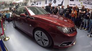 Saab 9-3 Turbo Edition Concept Car | NEVS Gift to the SAAB Museum [Festival 2017]
