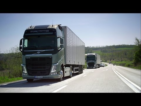 Volvo Trucks - Seamless gear changes with the new I-Shift Dual Clutch