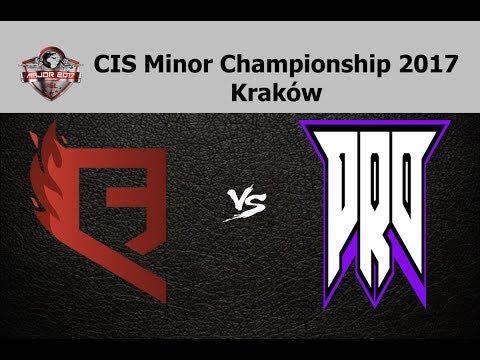 QB.Fire vs PRO100 - CIS Minor Championship 2017 - Kraków