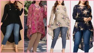 Most Demanding Women's Plus Size Casual Wear Kurti Designs 2019/2020