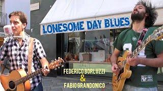 Lonesome Day Blues [Bob Dylan] -Federico Borluzzi & Fabio Grandonico live in Aosta